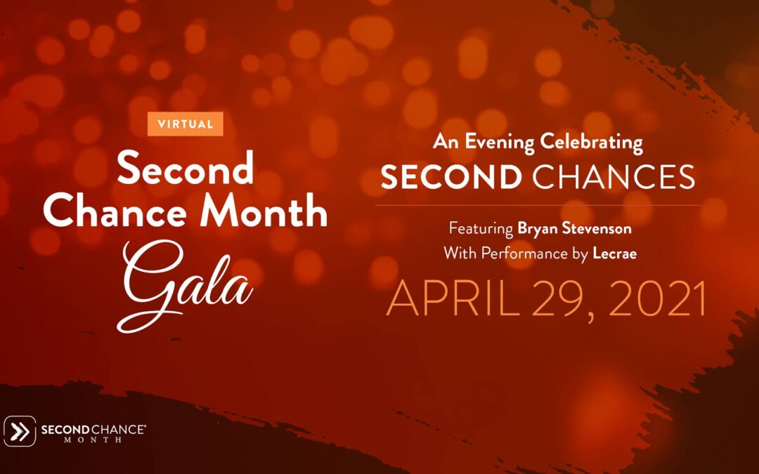 Second Chance Month Virtual Gala